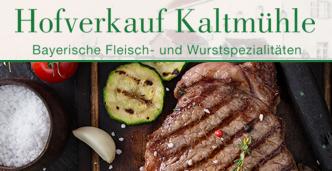 Hofverkauf Kaltmühle, Ampermoching